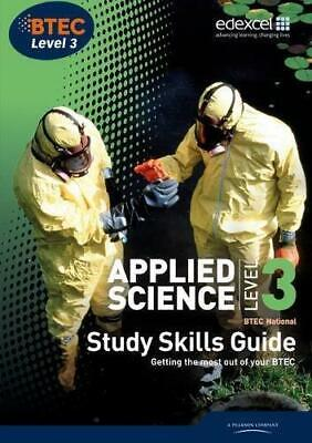 £3.94 • Buy Applied Science, BTEC National: Level 3, Study Skills Guide, , Good Condition Bo