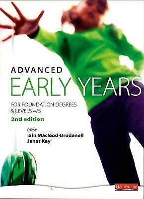 £47.02 • Buy  Advanced Early Years: For Foundation Degrees And Levels 4/5,, Iain MacLeod-Brud