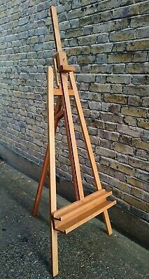 £75 • Buy Mabef M11 Professional Artist's Beech Wood Inclinable Napoli Lyre Studio Easel