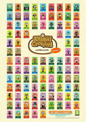 AU24.95 • Buy Authentic Animal Crossing Amiibo Series 1 Cards Aus Versions :) # 201-300 Cheap
