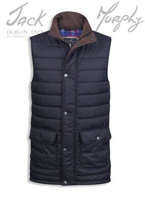 £54.99 • Buy Jack Murphy Alistair Quilted Gilet Lightweight And Warm Heritage Navy