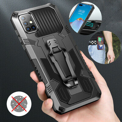 AU15.99 • Buy For OPPO A52 A72 A54 A94 Reno Realme 5 7 C11 Rugged Armor Stand Case With Clip