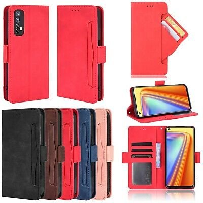 AU17.48 • Buy For OPPO A32 A53 2020 Realme 7 6 C15 X7 F17 Leather Wallet Stand Card Case Cover