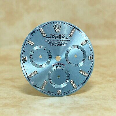 $ CDN317.23 • Buy Ice Blue Dial For Rolex Daytona With Ice Blue Subs And Crystals Marks (4130)