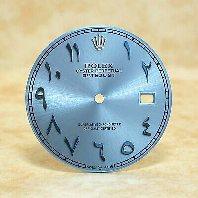 $ CDN241.70 • Buy Ice Blue Dial For Rolex Datejust 41mm With Arabic Numerals 126300, 126334