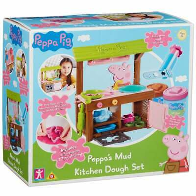 £21.69 • Buy Peppa Pig - Peppa's Mud Kitchen Dough Set With Moulds And Accessories