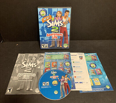 £18.10 • Buy Sims 2 Apartment Life Expansion Pack PC CD-ROM 2008 Complete Disc Manual Case