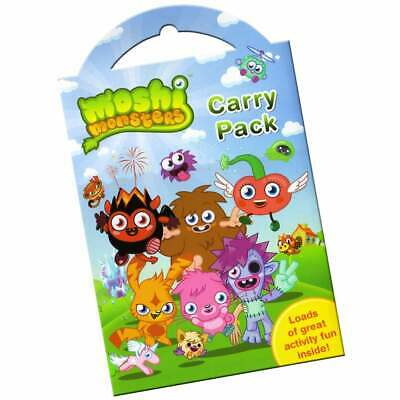 £2.29 • Buy Moshi Monsters Carry Pack - Height Chart Stickers Poster Colouring Page & More