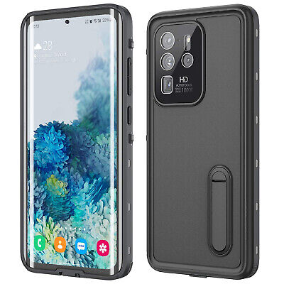 AU9.88 • Buy For Samsung S20 S10 S9 S8 Note 8 9 10 Waterproof Screen Protector Kickstand Case