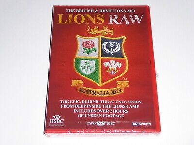 £4.95 • Buy British And Irish Lions Tour To South Africa 2013: Lions Raw - NEW 2x DVD Rugby