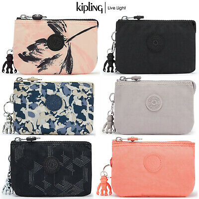 $ CDN27.82 • Buy Kipling Small Creativity S Purse Pouch Cosmetic Make-Up Three Section Case