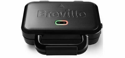 £24.99 • Buy BREVILLE VST082 Deep Fill Sandwich Toaster BLACK Removable Easy Clean Plates