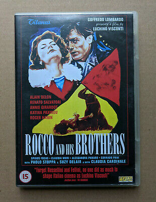 £11.99 • Buy Rocco And His Brothers (DVD, 2002, 2-Disc Set) - Alain Delon