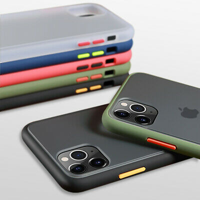 AU12.99 • Buy For IPhone 12 11 Pro Max X XR XS SE 2 7 8 Shockproof Silicone Matte Clear Case