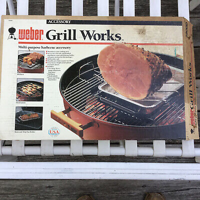 $ CDN125.88 • Buy Vtg NOS OEM Weber GRILL WORKS Gas Grill / KETTLE Barbecue Accessory #9000 NEW