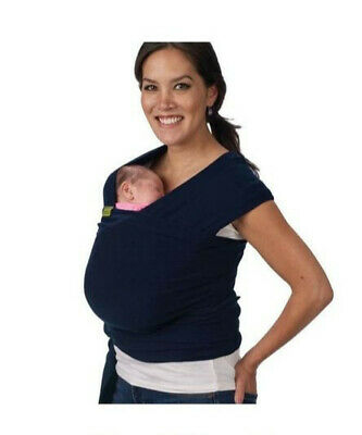 £27.99 • Buy Boba Wrap - Navy - Used But In Excellent Condition - Baby Carrier