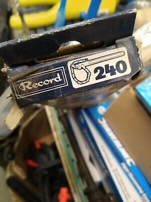 £35 • Buy Record Sheffield Made Chain Wrench In It's Box New Old Stock