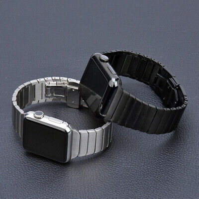 AU30.99 • Buy Stainless Steel Link Band Strap Bracelet For Apple Watch Series 6 SE 5 4 3 2