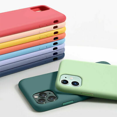 AU12.99 • Buy For IPhone 13 12 11 Pro Max XS 6S 7 8P Shockproof Liquid Silicone TPU Skin Case