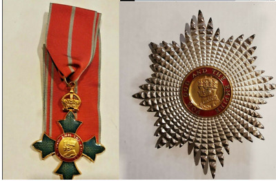 £134.86 • Buy THE ORDER OF THE BRITISH EMPIRE CBE MBE Medal Neck Cross Breast Star Replica