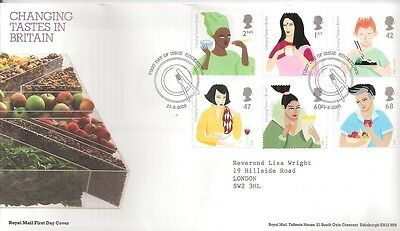 £1.64 • Buy (06020) GB FDC Changing Tastes In Britain Cookstown 2005