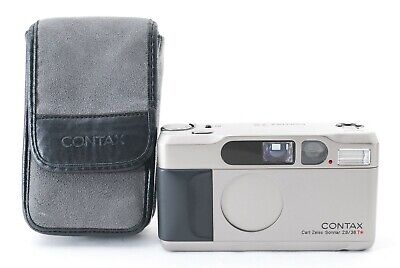 $ CDN1335.99 • Buy 🌟 Mint 🌟 Contax T2 Data Back 35mm Point & Shoot Film Camera Zeiss From Japan