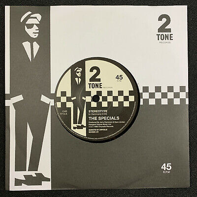 £11 • Buy The Specials Stereotype Two Tone 2 2019 Retro Issue  7  45 Vinyl Single MINT