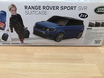 £39.99 • Buy Range Rover Sport SVR Car Kids Luggage Suitcase Trolley, Ride-on Handle Toy Car