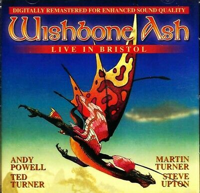 £10 • Buy Wishbone Ash - Live In Bristol Cd. Classic Line Up. Remastered