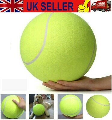 £7.88 • Buy 24cm/9.5 Puppy Toys Large Tennis Ball For Pet Chew Toy Big Inflatable Gift UK