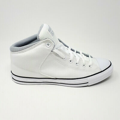 $68.98 • Buy Mens Converse Chuck Taylor All-Star High Hi Street Mid White Casual Shoe Sneaker