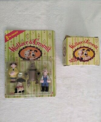 £12.99 • Buy Wallace And Gromit Collectable Figures 1989 RARE Collectables