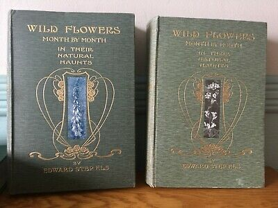 £49.99 • Buy Wild Flowers Month By Month In Their Natural Haunts 1905 Edward Step Illustrated