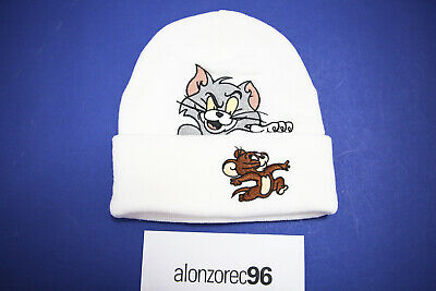 $ CDN62.93 • Buy Supreme Tom And Jerry White Beanie FW16 MBGH