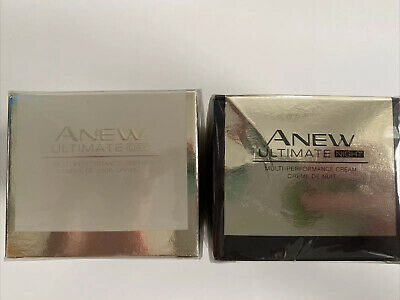£15 • Buy Avon Anew Ultimate Set Of DAY And NIGHT Cream - Fully Sealed - 50ml Each