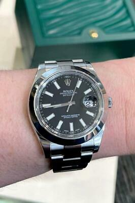 $ CDN11203.76 • Buy Rolex 116300 Datejust II With Black Stick Dial On Oyster