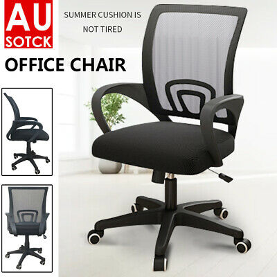 AU40.29 • Buy Gaming Office Chair Ergonomic Computer Chair Mesh Desk Executive Black Chairs