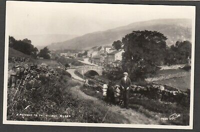£6.99 • Buy Postcard Muker Nr Hawes In North Yorkshire A Pathway To Village RP Walter Scott