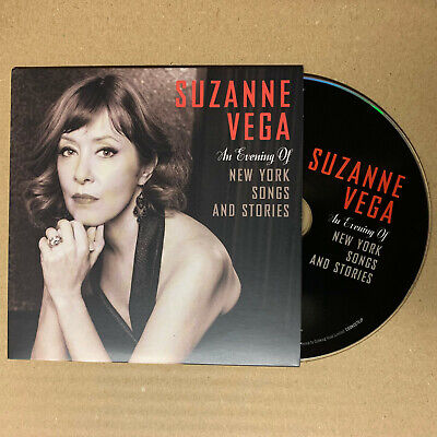 £8 • Buy Suzanne Vega - An Evening Of New York Songs And Stories 24 Track Promo CD (2020)
