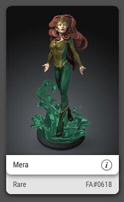$ CDN122.62 • Buy VeVe NFT Collectibles - Mera First Appearance Rare (Sold Out) #618