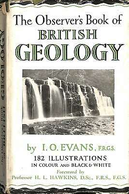 £3.41 • Buy Observer's Book Of British Geology, The, Evans, I. O. - F.R.G.S., Good Condition