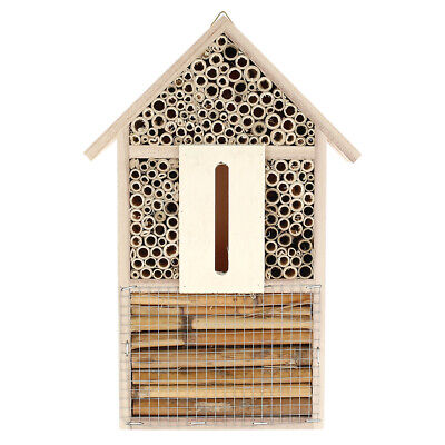 £9.99 • Buy Wooden Butterfly Hotel Insect House Garden Bug Bee Beetle Moth Shelter Box
