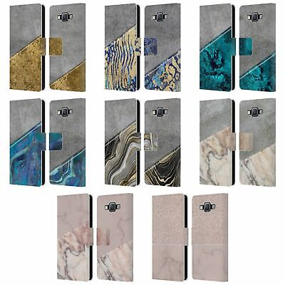£9.88 • Buy Official Lebensart Concrete And Marble Leather Book Case For Samsung Phones 2