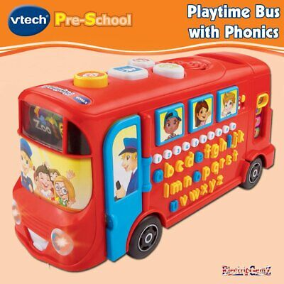 £24.69 • Buy VTech Pre-School Playtime Bus With Phonics - 4 Play Modes - Over 100 Questions