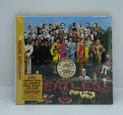 £6.50 • Buy Beatles SGT Peppers Lonely Hearts Club Band CD Digipak (Anniversary Edition)