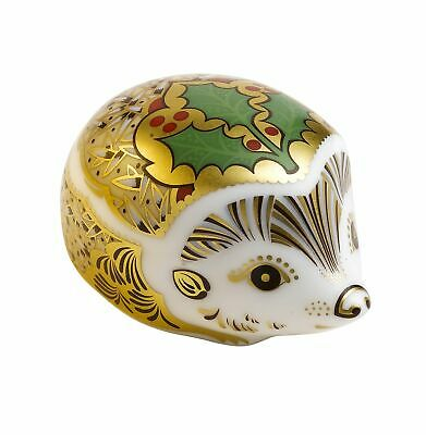 £54.95 • Buy Royal Crown Derby Holly Hedgehog Paperweight - New 1st Quality