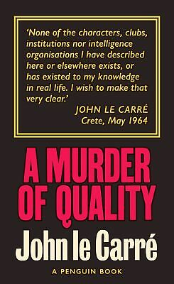 £6.65 • Buy A Murder Of Quality, John Le Carr�,  Paperback