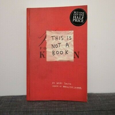 £15 • Buy Keri Smith 3 X Books / Mess / Pocket Scavenger / This Is Not A Book
