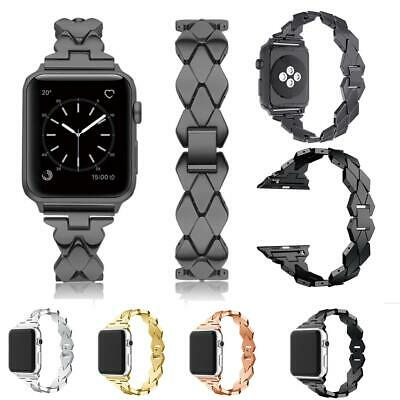 AU20.99 • Buy Stainless Steel Metal Strap Band For Apple Watch Series 6 5 4 3 2 38 42 40 44mm