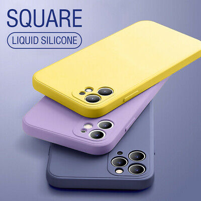 AU12.99 • Buy Liquid Silicone Case For IPhone 13 12 11 Pro Max XS XR 7 8 SE2 Shockproof Cover